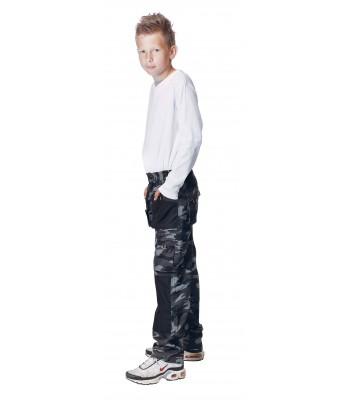 EMERTON CAMOUFLAGE KIDS nohavice detské